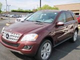 2009 Mercedes-Benz ML Barolo Red Metallic