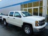 2014 White Diamond Tricoat Chevrolet Silverado 1500 LT Z71 Crew Cab 4x4 #86779826