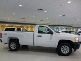 2013 Summit White Chevrolet Silverado 1500 Work Truck Regular Cab 4x4 #86779769