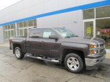 2014 Tungsten Metallic Chevrolet Silverado 1500 LT Z71 Crew Cab 4x4 #86779825