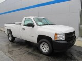 2013 Summit White Chevrolet Silverado 1500 Work Truck Regular Cab 4x4 #86779766