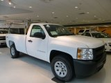 2013 Summit White Chevrolet Silverado 1500 Work Truck Regular Cab 4x4 #86779765