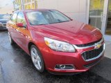 2014 Chevrolet Malibu Crystal Red Tintcoat