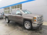 2014 Brownstone Metallic Chevrolet Silverado 1500 LT Double Cab 4x4 #86779883