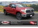 2014 Barcelona Red Metallic Toyota Tundra SR5 TRD Double Cab 4x4 #86779721