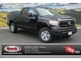 2014 Black Toyota Tundra SR5 Double Cab 4x4 #86779720