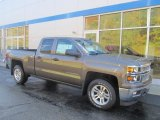 2014 Brownstone Metallic Chevrolet Silverado 1500 LT Double Cab 4x4 #86779867