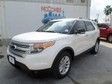 2014 White Platinum Ford Explorer XLT #86808587