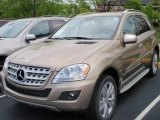 2009 Mercedes-Benz ML Sand Beige Metallic