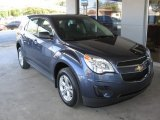 2014 Atlantis Blue Metallic Chevrolet Equinox LS #86812456