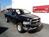 2005 Black Dodge Ram 1500 SLT Quad Cab 4x4 #86812452