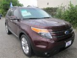2011 Bordeaux Reserve Red Metallic Ford Explorer Limited #86812055