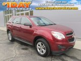 2010 Cardinal Red Metallic Chevrolet Equinox LS #86812037