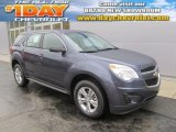 2014 Atlantis Blue Metallic Chevrolet Equinox LS AWD #86812031