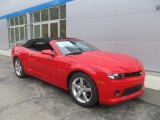 2014 Red Hot Chevrolet Camaro LT Convertible #86812025