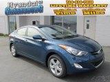 2013 Windy Sea Blue Hyundai Elantra GLS #86811957