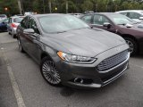 2013 Sterling Gray Metallic Ford Fusion Titanium #86812217