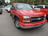 2007 Victory Red Chevrolet Silverado 1500 Classic LS Crew Cab #86812211