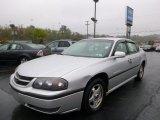 2001 Galaxy Silver Metallic Chevrolet Impala LS #86812152