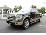 2013 Kodiak Brown Metallic Ford F150 Lariat SuperCrew #86849053