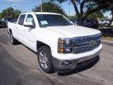 2014 Summit White Chevrolet Silverado 1500 LT Crew Cab #86849284