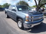 2014 Blue Granite Metallic Chevrolet Silverado 1500 LT Crew Cab #86849282
