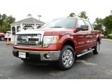 2013 Ruby Red Metallic Ford F150 XLT SuperCrew #86849044