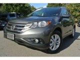 2012 Polished Metal Metallic Honda CR-V EX-L #86849043