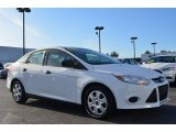 2012 Oxford White Ford Focus S Sedan #86848878