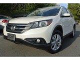 2012 White Diamond Pearl Honda CR-V EX-L #86849042