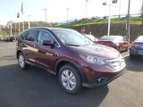 2014 Basque Red Pearl II Honda CR-V EX-L AWD #86849110