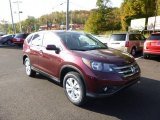 2014 Basque Red Pearl II Honda CR-V EX AWD #86849108