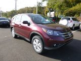 2014 Basque Red Pearl II Honda CR-V EX AWD #86849107