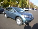 2014 Mountain Air Metallic Honda CR-V EX AWD #86849106