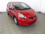 2013 Milano Red Honda Fit  #86848716