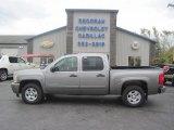 2007 Graystone Metallic Chevrolet Silverado 1500 LT Crew Cab 4x4 #86849256