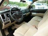 2007 Toyota Tundra SR5 Regular Cab 4x4 Beige Interior