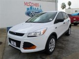 2014 Oxford White Ford Escape S #86848776
