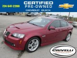 2009 Sport Red Metallic Pontiac G8 Sedan #86849019