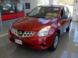 2012 Cayenne Red Nissan Rogue S AWD #86849083