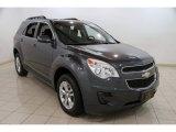 2010 Cyber Gray Metallic Chevrolet Equinox LT #86849077