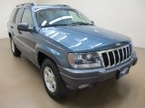 2002 Steel Blue Pearlcoat Jeep Grand Cherokee Sport 4x4 #86848704