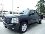 2010 Chevrolet Silverado 1500 LT Extended Cab 4x4 Front 3/4 View