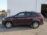 2011 Dark Cherry Kia Sorento LX AWD #86849238