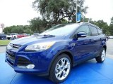 2014 Deep Impact Blue Ford Escape Titanium 1.6L EcoBoost #86848835