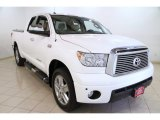 2010 Super White Toyota Tundra Limited Double Cab 4x4 #86849064