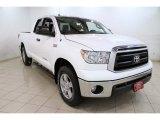 2011 Super White Toyota Tundra SR5 Double Cab 4x4 #86849063