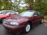 2001 Dark Carmine Red Metallic Chevrolet Impala  #86848898