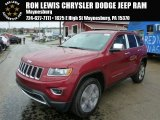 2014 Deep Cherry Red Crystal Pearl Jeep Grand Cherokee Limited 4x4 #86892364