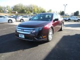 2012 Bordeaux Reserve Metallic Ford Fusion SEL V6 AWD #86892637